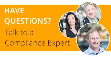 Talk to a Compliance Expert