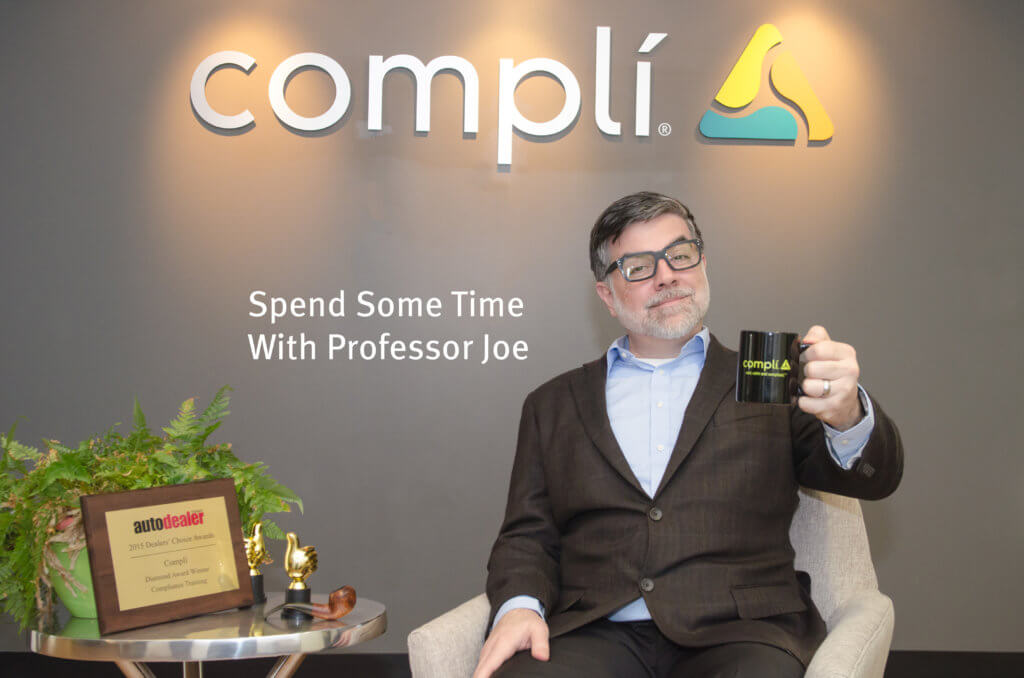 Overloaded With Compliance Data? Get Help from Professor Joe (Webinar)